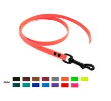 Mystique® Biothane leash 13mm grey 1m black