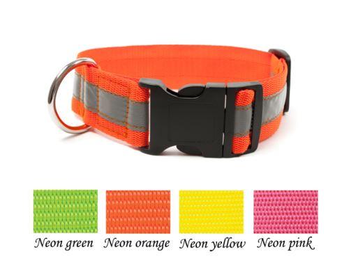 Mystique® Reflexný obojok klik pracka 40mm