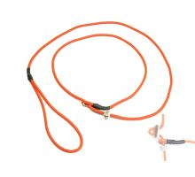 Mystique® Field trial Moxonleine 4mm 130cm neon orange mit Zugbegrenzung