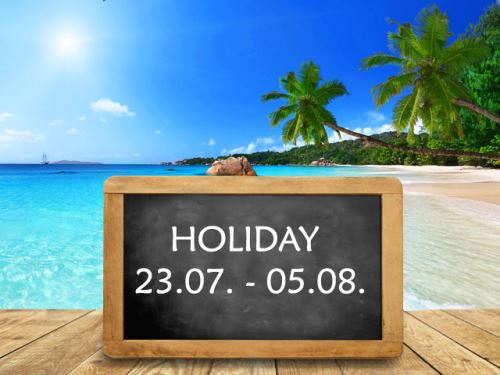 Summer holiday in our company