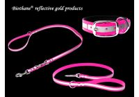 Biothane reflective gold products