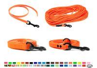 BioThane® Leinen und Halsbändern mit schwarzen Karabiner