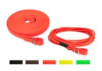 New colours - Biothane blood tracking leash and blood tracking leash round