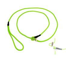 Mystique® Field trial Moxonleine 4mm 130cm neon grün mit Zugbegrenzung