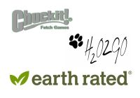 Chuckit!/H2O2GO/Earth Rated  - new products