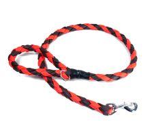 Mystique® Biothane braided leash orange/brown 1,2m with HG