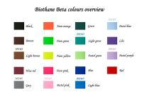 Biothane BETA products in new colours