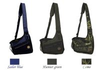 "Mystique® Dummy bag ""Profi dynamic"" sailor blue, hunter green and camo"