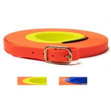 Mystique® Biothane blood tracking leash two colour
