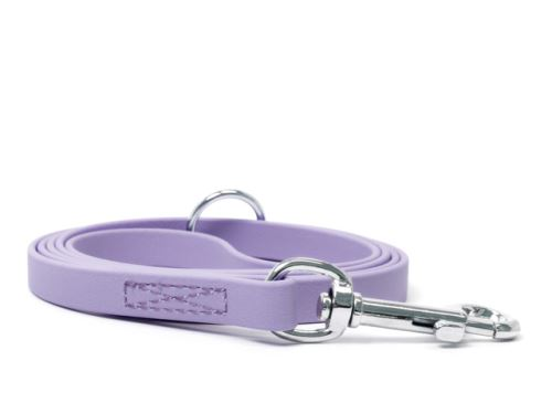 Biothane_leash_9_13mm_sewn_pastel_purple_snap_hook_small_web
