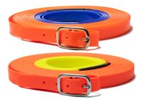 Biothane blood tracking leash two color