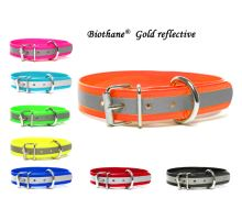 Biothane_gold_reflective_collars_classic_all_colours_small_web